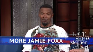 Jamie Foxx Had To Regain His Funny After Watching Chris Tucker