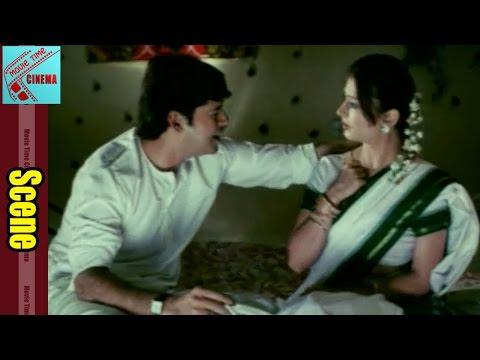 First Night Scene Between Sujatha & Her Husband    Iddaru Pellalu Movie thumbnail