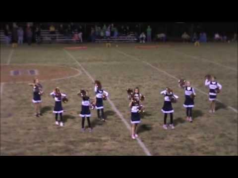 Hobgood Academy Youth Cheerleaders 2013