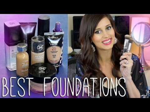 BEST FOUNDATIONS! - High End & Drugstore!