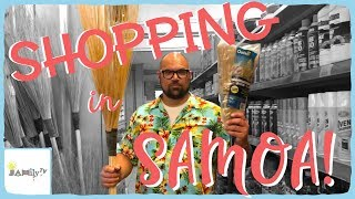 SHOPPING IN SAMOA | SSAB AND HOME CAFE | JAMily TV | Episode 20