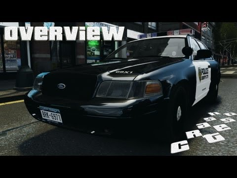 Ford Crown Victoria Police Interceptor 2003 LCPD