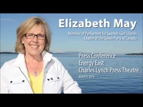 Energy East Press Conference