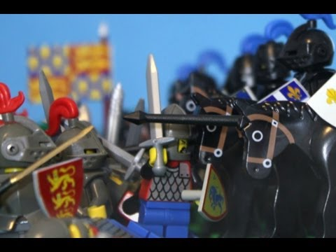1346 Lego Battle of Crecy,  Hundred Years War
