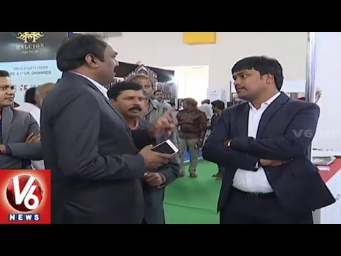 Gruhapravesham : Huge Response For Property Show In Hitex | Hyderabad | V6 News