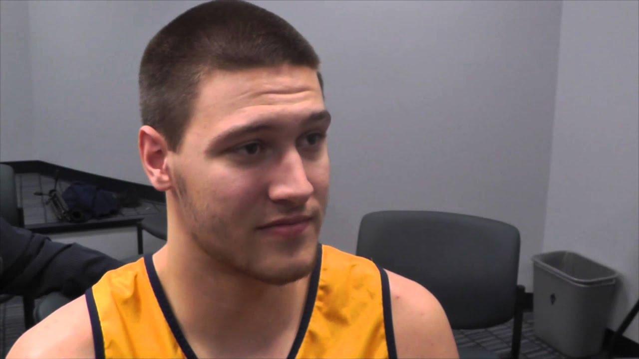 WVU Men's Basketball: Nathan Adrian - YouTube