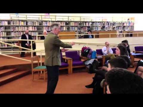 Congressman Richard Neal teaches government at Pittsfield High School. Part 2