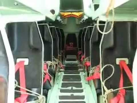 1700 Teu Container Ship Test Of Free Fall Life Boat Youtube