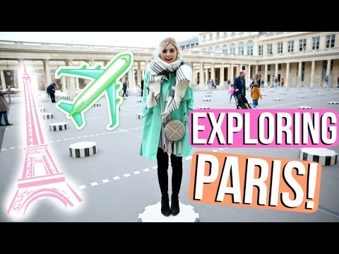 OUR FIRST TIME IN PARIS!