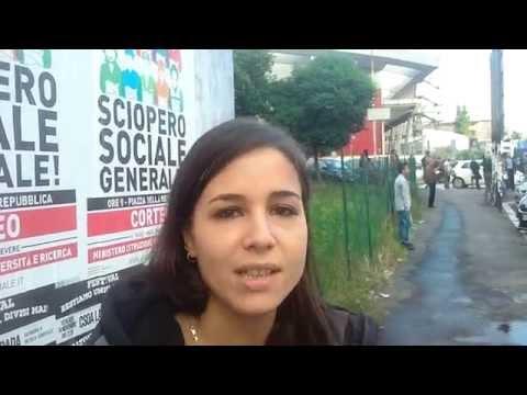 Contestato Draghi a Roma3 - Intervista ad una studentessa