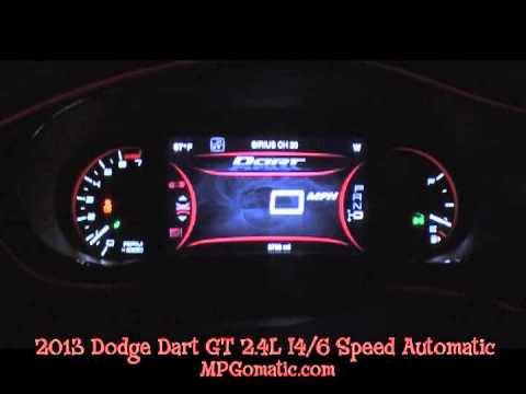 2013 Dodge Dart GT 2.4L 0-60 MPH
