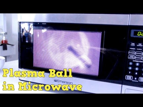 Plasma Ball in Microwave Experiment