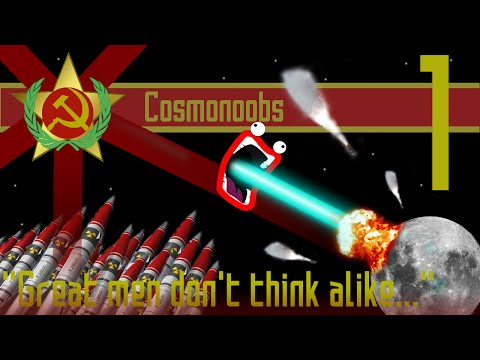 Russian Cosmonoobs Minecraft Survival S2 - Episode 1: The Soviet side of the Moon