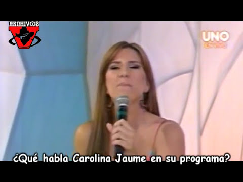Qué habla Carolina Jaume en su programa