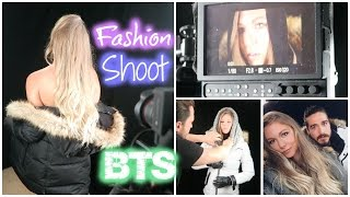 Fashion Shoot // Behind the Scenes