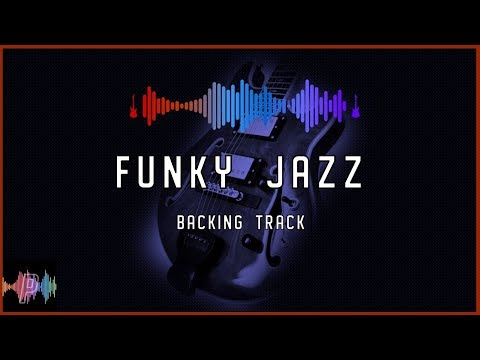 Funky Jazz Backing Track In  Dmajor