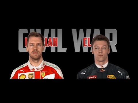 RUSSIAN CLASH: Civil War Official Trailer - Vettel vs. Kvyat