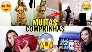 DIA DE MUITAS COMPRINHAS, RECEBI UMA CAIXA CHEIA DE ABSORVENTE, CENTRO DE CAMPINAS ♥ - Bruna Paula