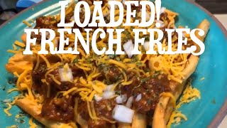 How to make Barbeque loaded French Fries Quick n simple
