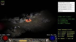 Diablo 2 - 2 sk Shadow Dancer Drop - Holy Grail (Single Player / Plugy)