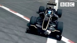 Lotus T125 lesson with Jean Alesi - Top Gear - Series 17 - Episode 5 - BBC Two