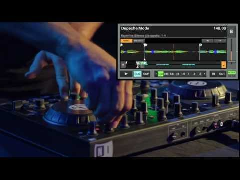 Traktor Kontrol S2: Ean Golden Depeche Mode Live Remix