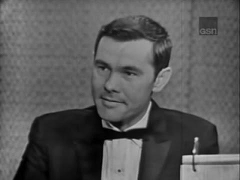 What's My Line? - Toots Shor; Johnny Carson; Tony Randall & Martin Gabel [panel] (Feb 11, 1962)