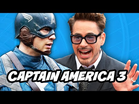 Captain America 3 Civil War Casts Robert Downey Jr