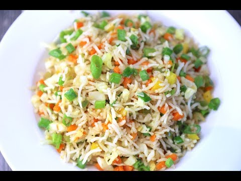 Fried rice - Veg fried rice - Indo Chinese recipe - Quick fried rice recipe