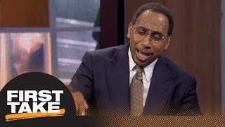 Stephen A.: Warriors have nothing to worry about with Lakers | First Take | ESPN