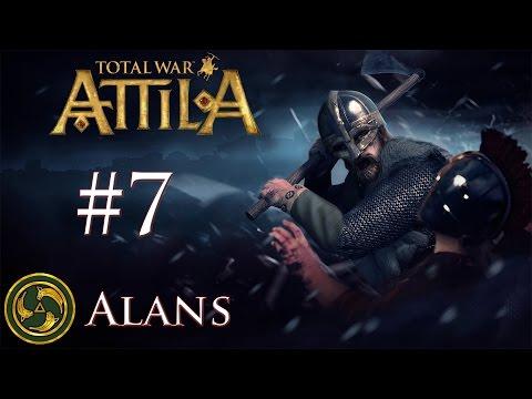 Total War: Attila - Alans - I've Got That Sinking Feeling