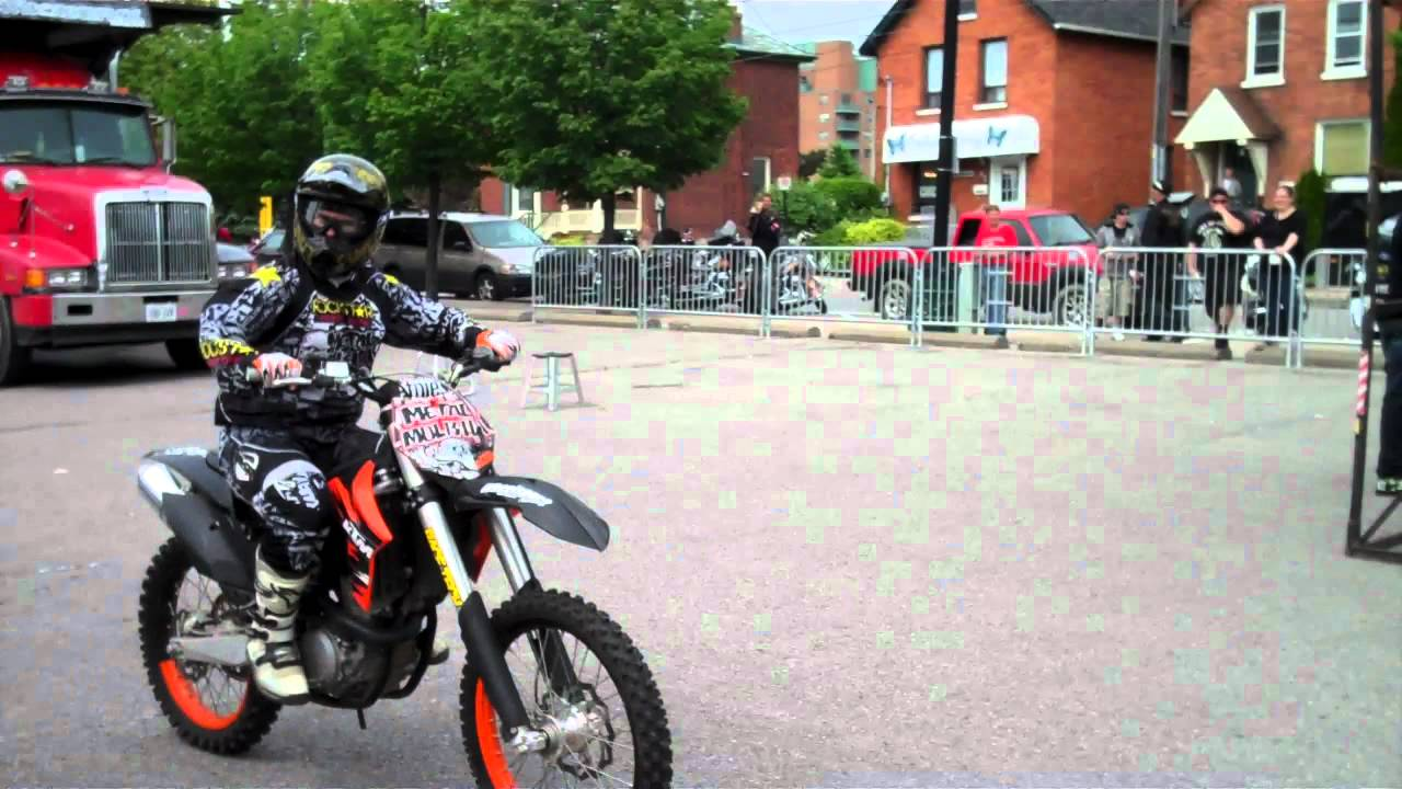 Bike Tricks Youtube KTM Dirtbike Stunts