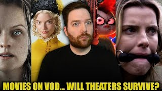 New Movies on VOD... Will Theaters Survive?