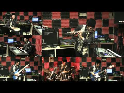 Hari Raya Music Malaysia - Seloka Hari Raya Instrumental Cover, Eizaz Azhar (uji Rashid & Hail Amir) video