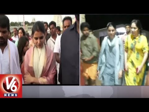 Actress Samantha Visits Tirumala Temple, Offers Special Prayers To Lord Venkateswara | V6 News