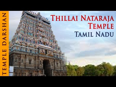Darshan Of Natrajan Temple - Chidambaram - Tamil Nadu - Temple Tours Of India