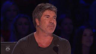 'America's Got Talent': Simon Cowell in Tears Over Singer Michael Ketterer's Performance