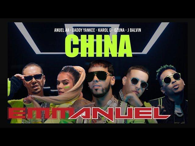 Anuel AA, Daddy Yankee, Karol G, Ozuna & J Balvin - China (Video Oficial) thumbnail