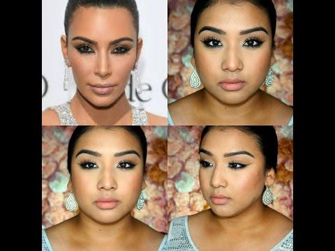 Maquillaje Inspirido Por Kim Kardashian Cannes 2016