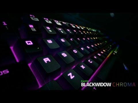 The new Razer BlackWidow Chroma