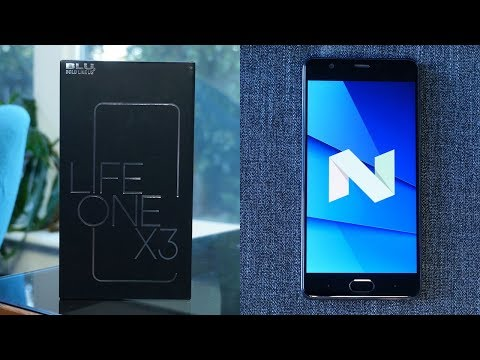 BLU Life One X3 Review