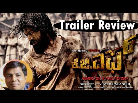 KGF Trailer review by Saahil Chandel | Yash | Kannada Movie