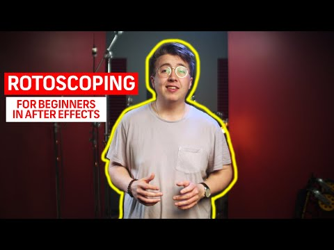 Rotoscoping For Beginners in After Effects | Motion Graphics Tutorials