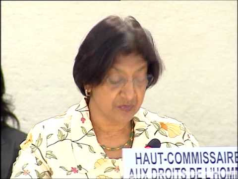 Human Rights High Commissioner calls for investigation