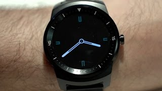 The LG G Watch R is the most beautiful smartwatch so far