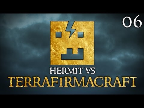 "Hermit Vs TerraFirmaCraft Ep06 – ""Stone Anvils and my FIRST Mining Pick!!!"""