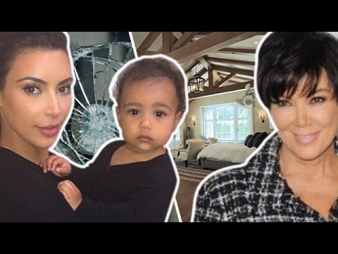 Kris Jenner Fights With Kim Kardashian And Makes North Cry!