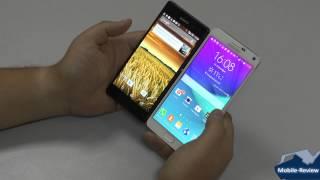 Сравнение Samsung Galaxy Note 4 и Sony Xperia Z3