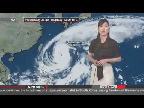 Enviroment Watch:Japan braces for very strong typhoon Vongfong over Fukushima next week 10/9/2014