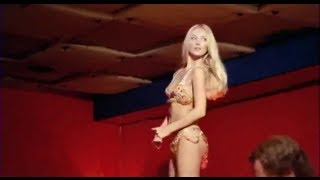 Barbara Bouchet cubista al night - Milano Calibro 9